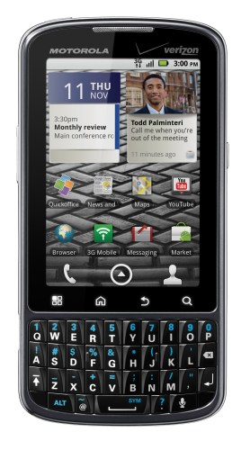 droid pro2 - Droid Pro chega para concorrer com BlackBerry