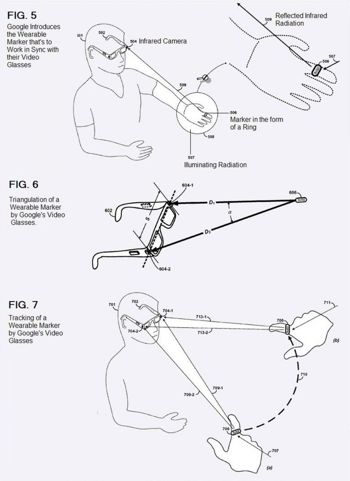 Project Glass to Incorporate the Use of Gesture-Based