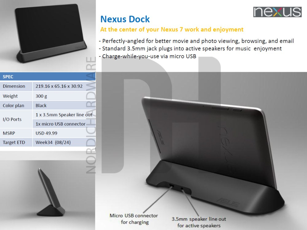 medium resolution of  nexus7dock official nexus 7 accessory lineup leaks pogo dock and premium cable wire connectors at