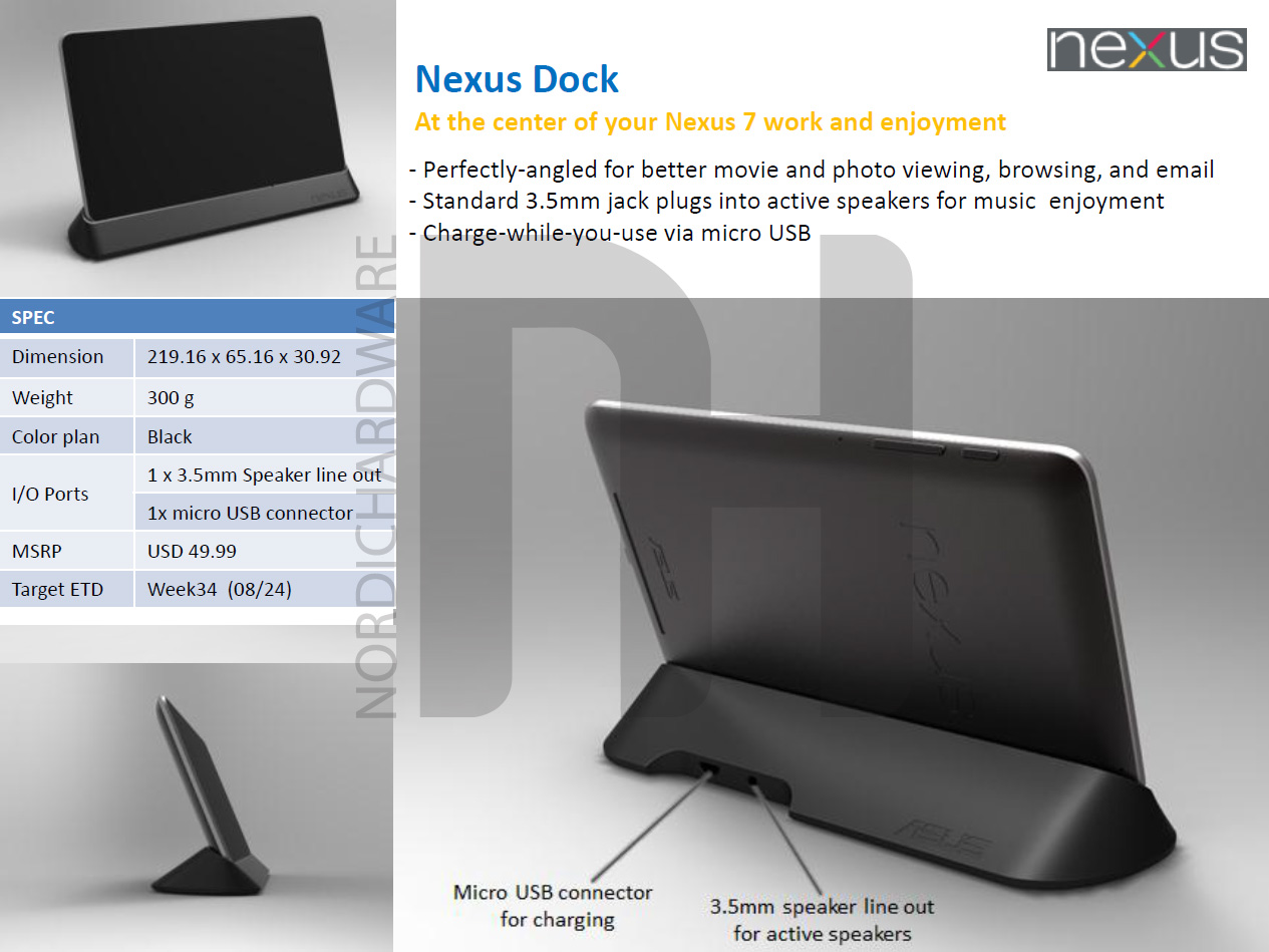 hight resolution of  nexus7dock official nexus 7 accessory lineup leaks pogo dock and premium cable wire connectors at