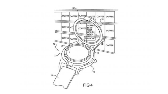 Google Secures Patent for Augmented Reality Watch, Could