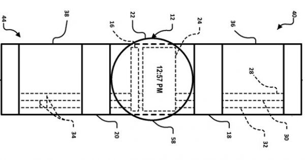 Google Files Patent for Smartwatch With Bezels as Touchpads