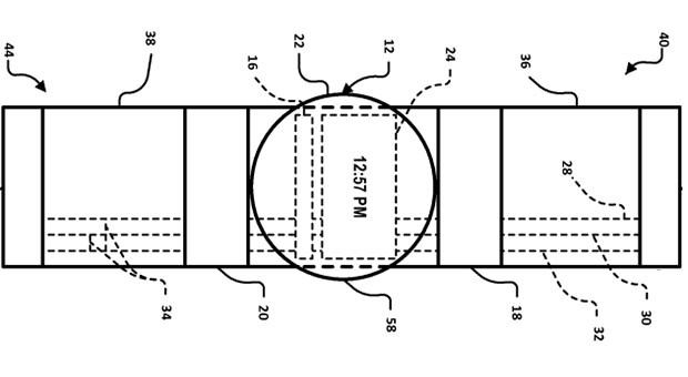 Google Files Patent for Smartwatch With Bezels as
