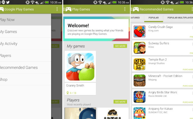 Google Play Games App Now Live On Google Play Store