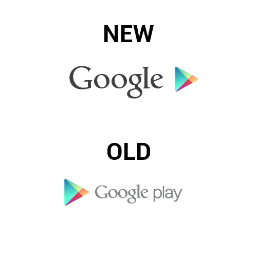 Here is the New Google Play Logo