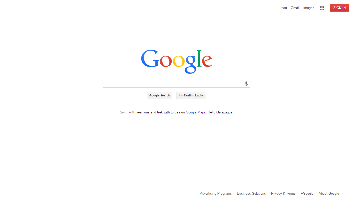 New Flattened Minimal Google Homepage is Rolling Out