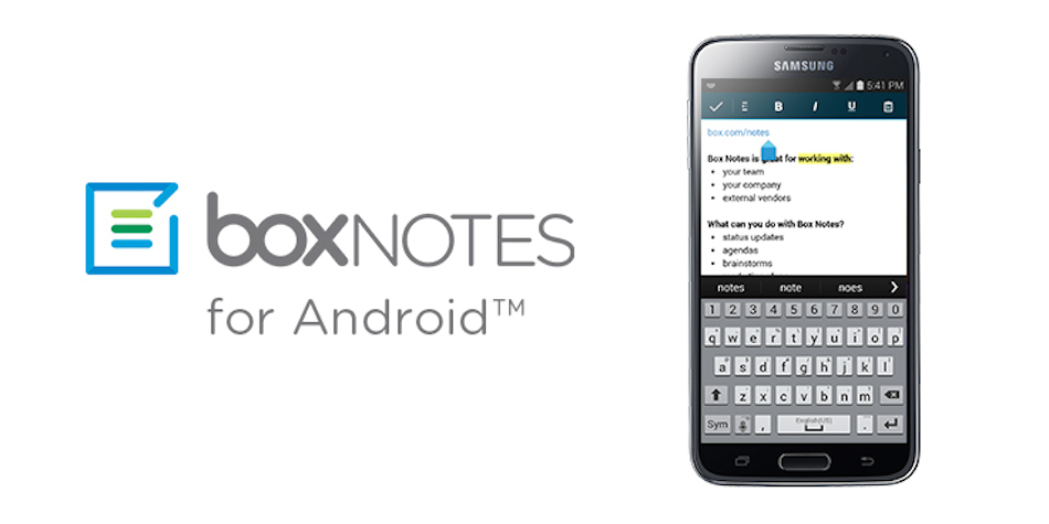 Box App Receives Major Update on Android, Brings Box Notes