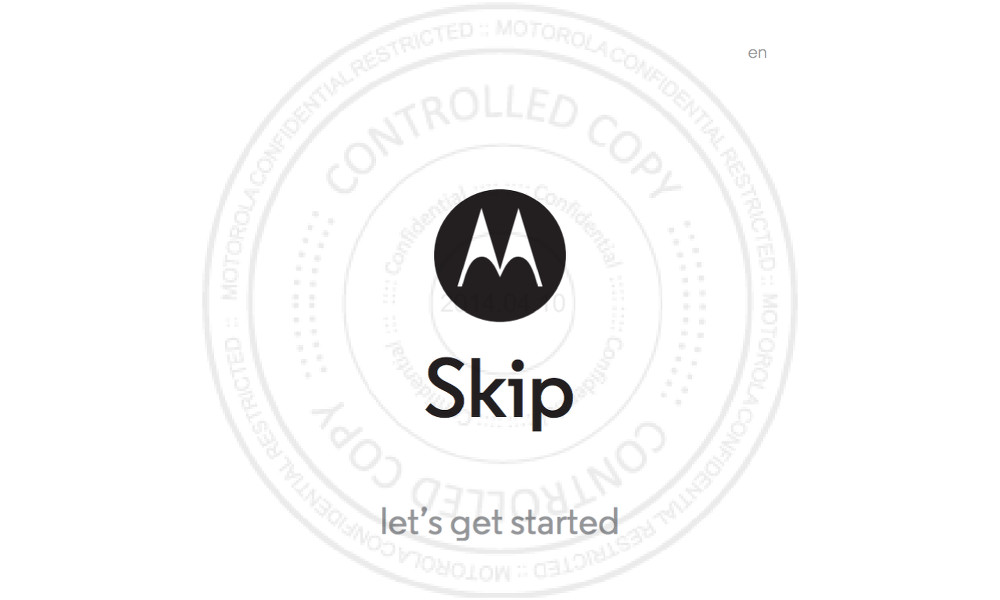 This is the New Motorola Skip, a Full-Blown Key Fob That