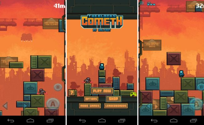 The Blocks Cometh Hits Google Play See How High You Can