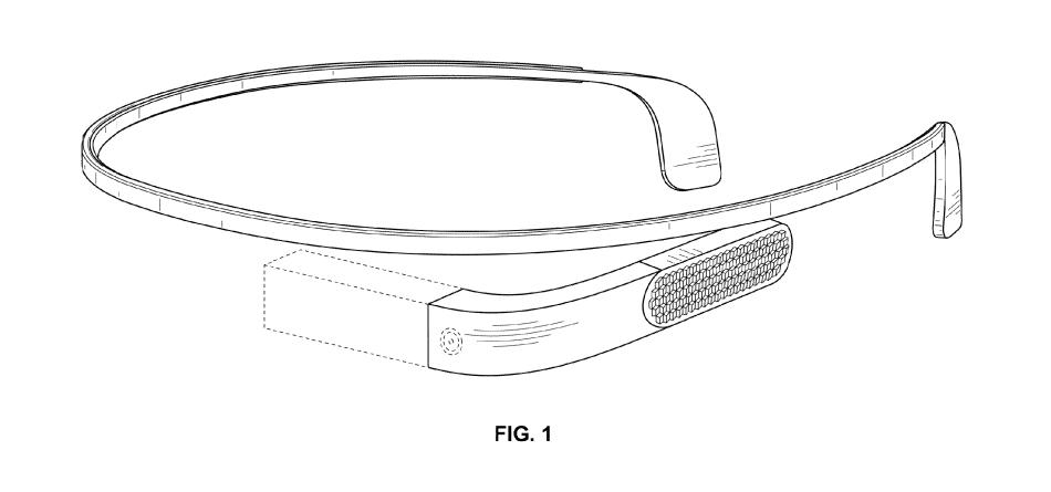 Google Glass v2.0 Heads Through USPTO, Features Slimmer Design