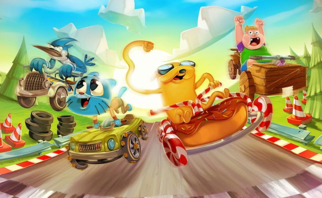 Cartoon Network Launches Formula Cartoon All Stars Racer