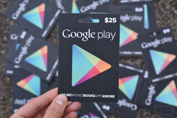 Google Play Gift Card Codes