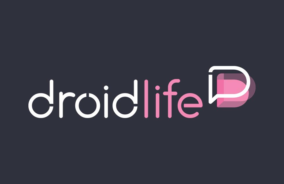 new droid life logo gray