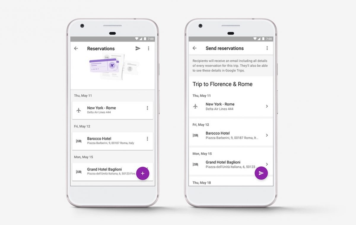 Google Trips Gets Improvements Just in Time for Your