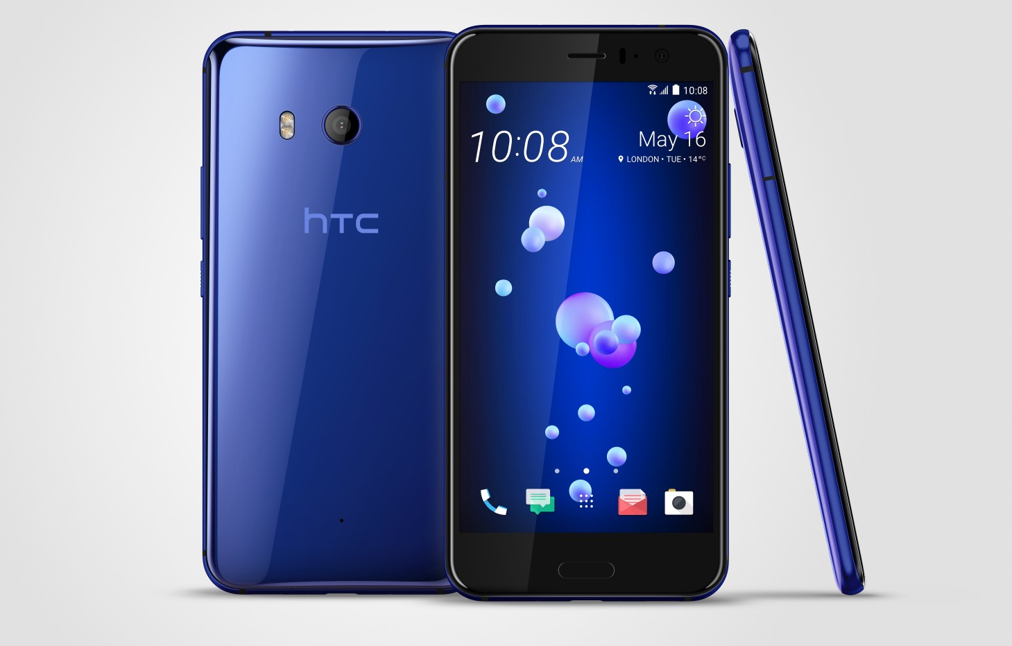 HTC U11 is Official and Squeezable, Coming to the US in June