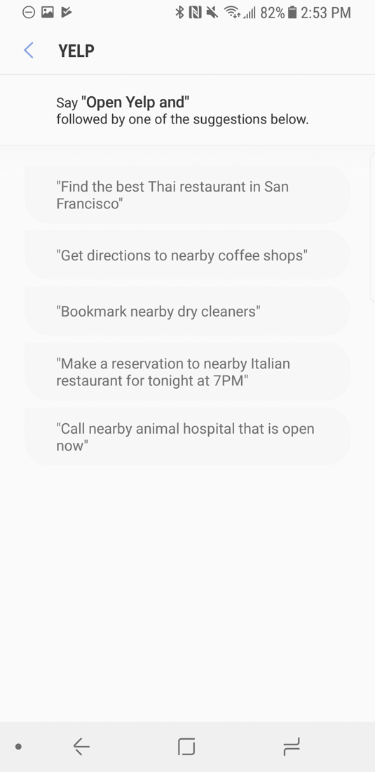 Bixby Update Brings Voice Control Over Google Play Store