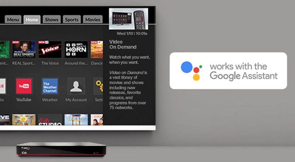 dish google assistant