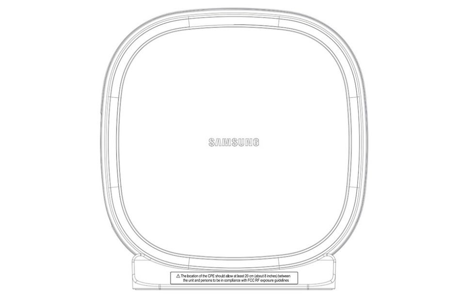 Samsung's 5G Home Router Hits the FCC, Gets Verizon a Step