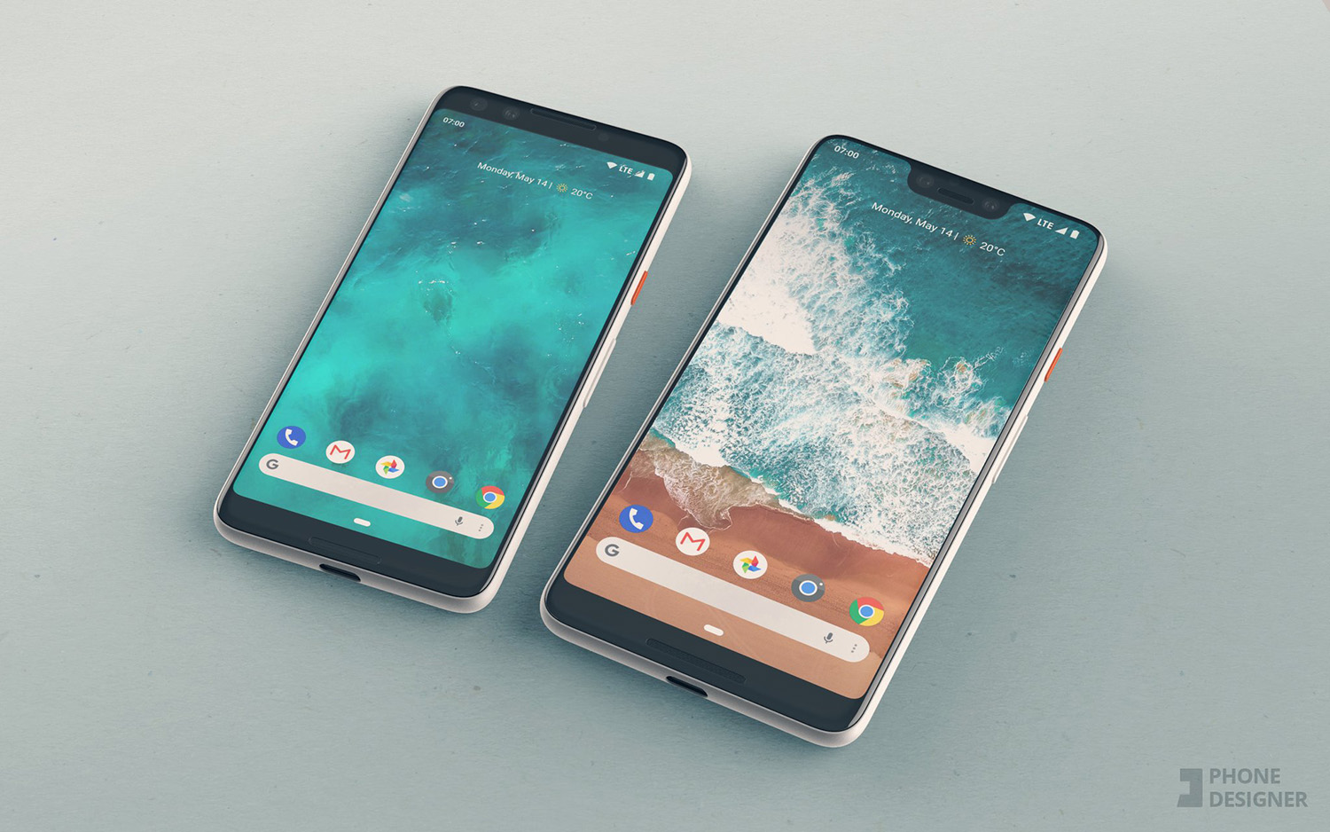 Iphone X Notch Wallpaper Reddit If The Google Pixel 3 And Pixel 3 Xl Look Like These