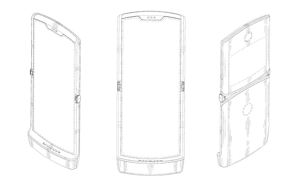 First Look at the Foldable Moto Razr?