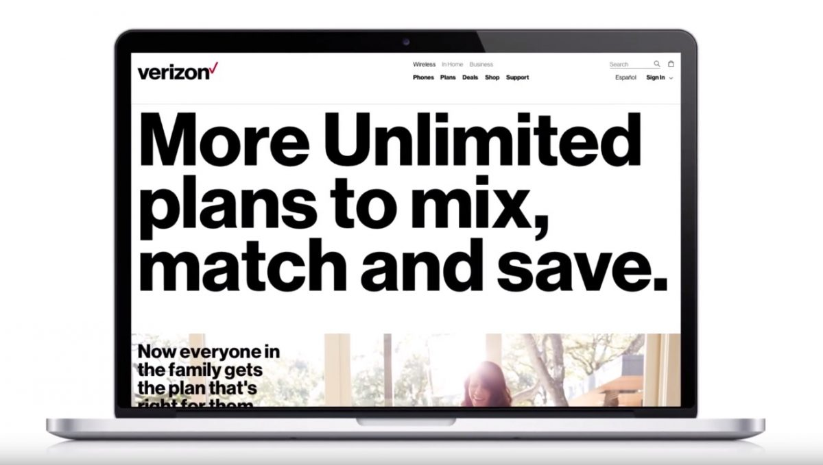 Verizon Makes New Unlimited Plan Line-Up Official