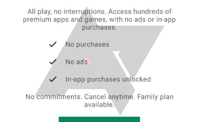Google Testing Play Pass An Ad Free Iap Free