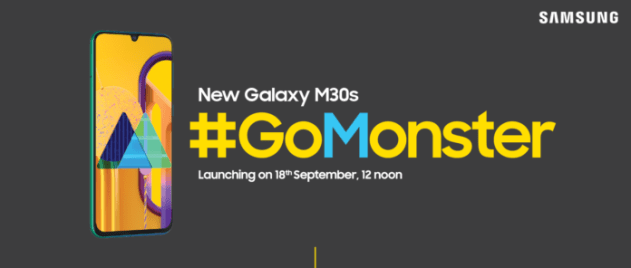 The Specifications Of Samsung Galaxy M30s with 6000 MAH battery leaked 3