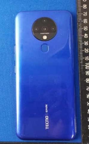 Tecno KE7, possibly the Spark 6 shows up online 3