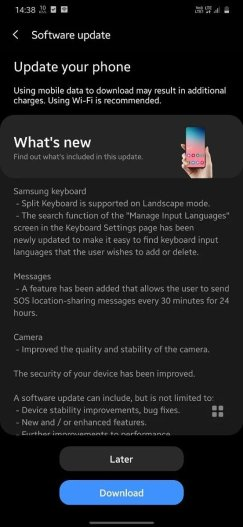 One UI 2.5 update released for Samsung Galaxy M21 2