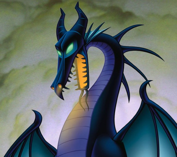 Disney Sleeping Beauty Maleficent Dragon