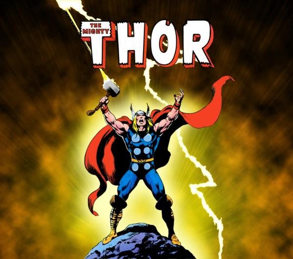 Thor Comic Book Covers