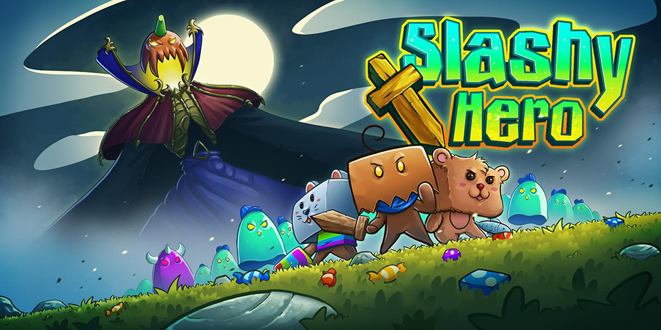 slashy hero as one might expect is a hack and slash adventure game thats now available on google play developed by the gentlebros and published by