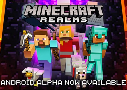 Minecraft-Realms-Alpha-Android