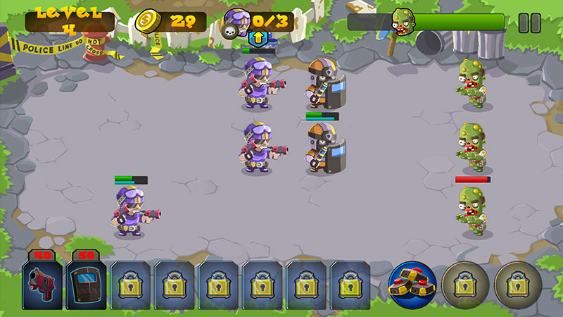 SWAT vs Zombies Rewards are multiplied by 50 - Zombies Defense