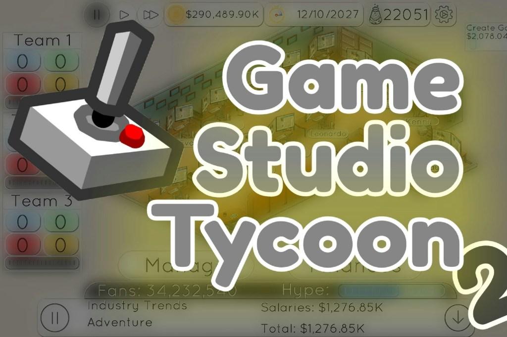 Game Studio Tycoon 2