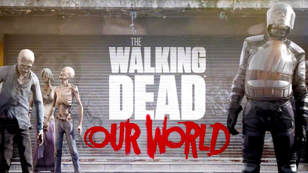 Location-based AR game The Walking Dead