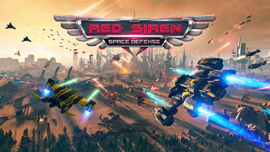 Red Siren: Space Defense Android