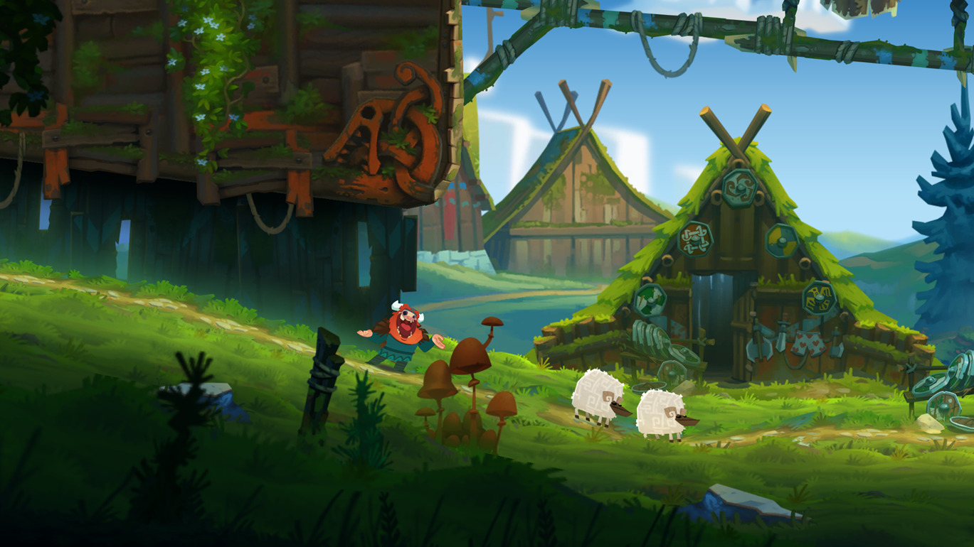Oddmar is out right now on Android