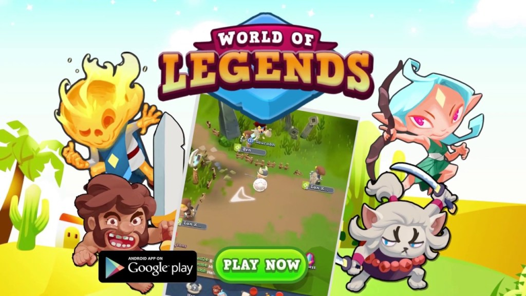 World of Legends Android