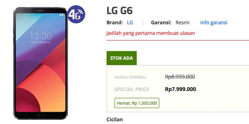 lg g6 erafone