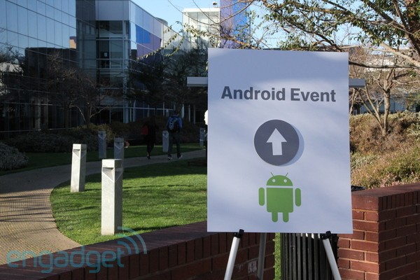 Android Honeycomb event video posted online
