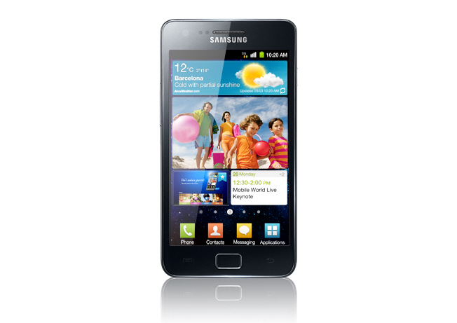 Samsung Galaxy S II Hits The UK on May 1st