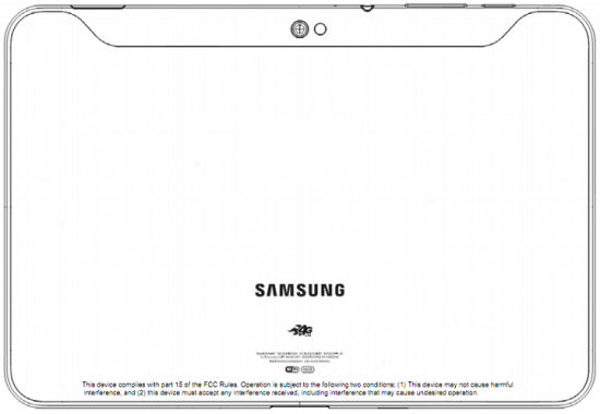 Samsung Galaxy Tab 10.1 hits FCC with AT&T 4G LTE bands