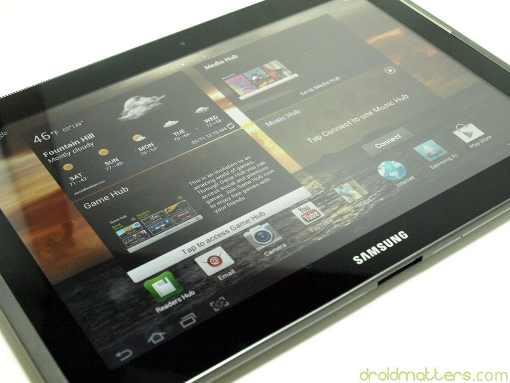 Samsung Galaxy Tab 2 10.1 Review – Wi-Fi