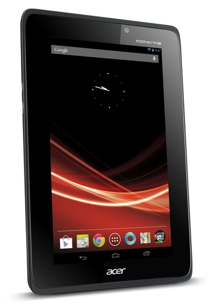 Acer Iconia Tab A110 to launch with Jelly Bean, according to latest press shots