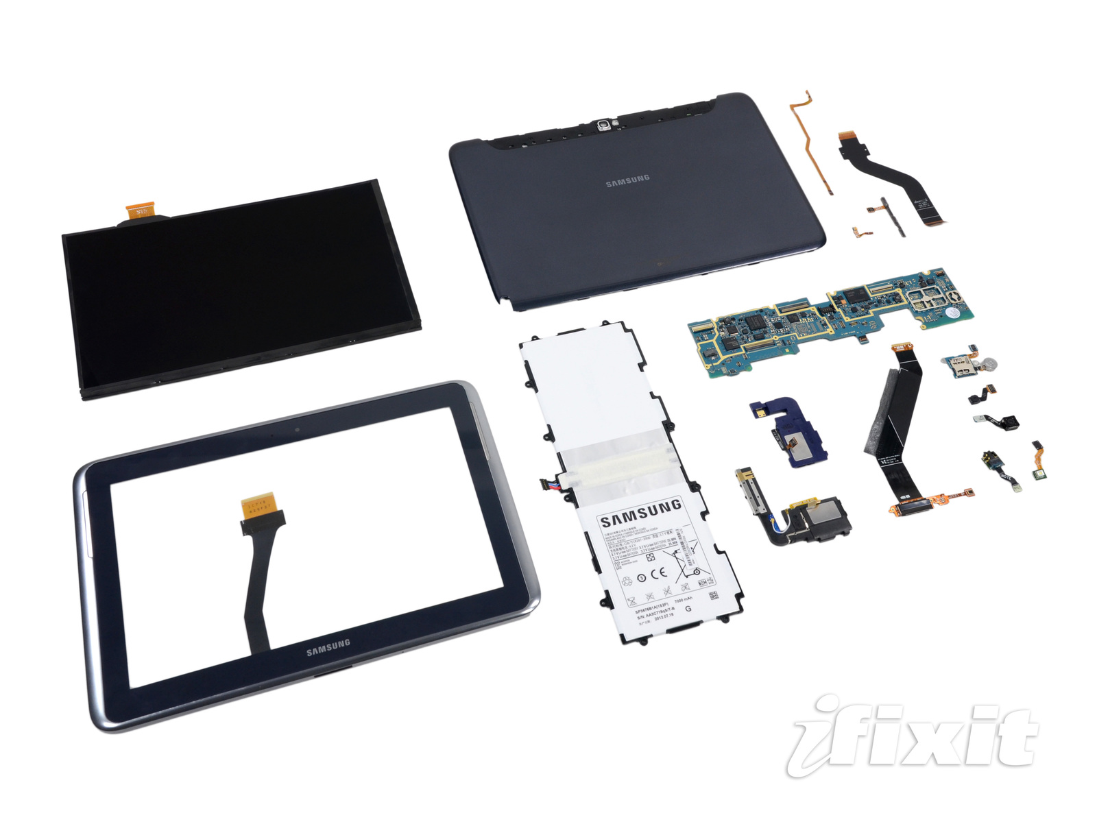 Ifixit tears down the Samsung Galaxy Note 10.1, gives it a 8 out of 10 for reparability