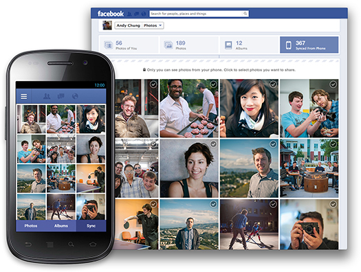 Facebook currently testing automatic photo upload feature via Android app