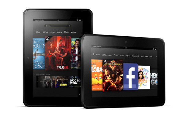 Amazon announces the Kindle Fire HD, Kindle Fire HD 8.9 and an upgraded Kindle Fire tablet