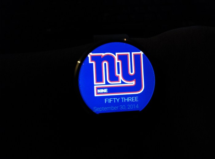 Ny-giants-watch-face