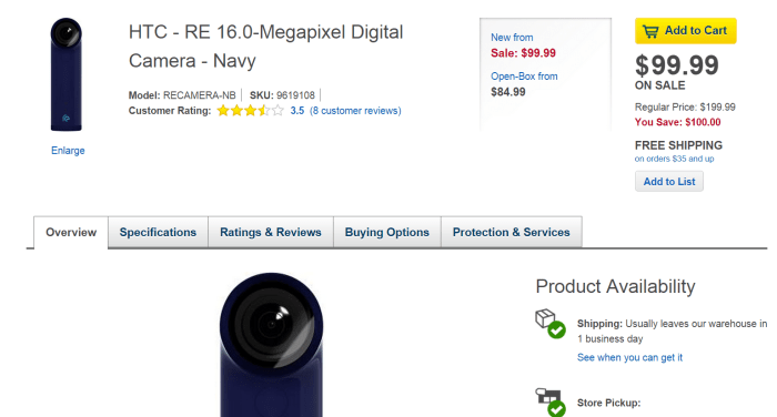 re-camera-best-buy